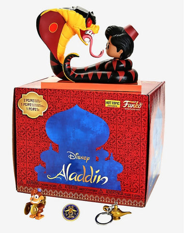 Funko Pop Aladdin Disney Treasures Box Hot Topic Ex - Vaulted Collection LLC