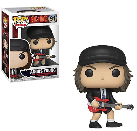 Funko Pop Angus Young 91 AC DC Funko Pop Rock - Vaulted Collection LLC