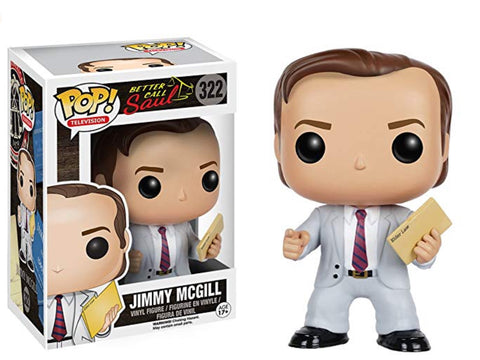 Funko POP TV: Better Call Saul - Jimmy McGill 322 - Vaulted Collection LLC
