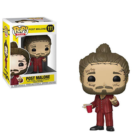 Funko Pop Post Malone 111 Pop Rocks - Vaulted Collection LLC
