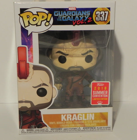 Funko Pop Kraglin 337 2018 Sdcc Shared Exclusive - Vaulted Collection LLC