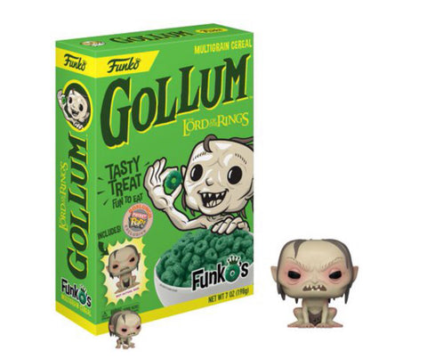 Funko Pop Gollum Cereal Lord Of The Rings - Vaulted Collection LLC