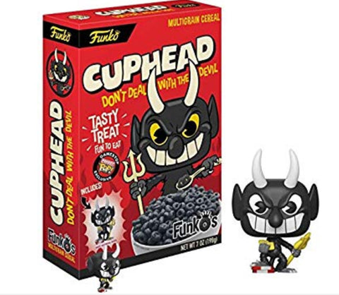 Funko Pop Cuphead Devil Cereal Exclusive - Vaulted Collection LLC