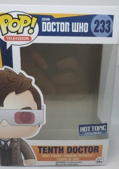 Funko Pop 233 Doctor Who Tenth Doctor Replacement Box - Vaulted Collection LLC