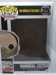 Funko Pop 25 Hannibal Lecter Replacement Box - Vaulted Collection LLC
