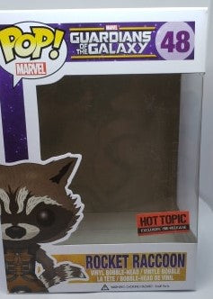 Funko Pop 48 Guardians of the Galaxy Rocket Raccoon Replacement Box - Vaulted Collection LLC