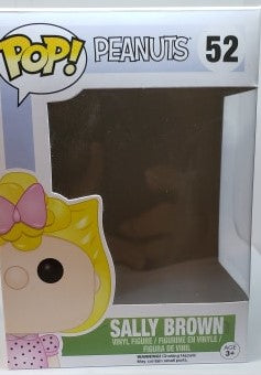 Funko Pop 52 Peanuts Sally Brown Replacement Box - Vaulted Collection LLC