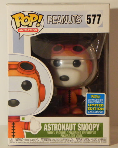 Funko Pop Astronaut Snoopy 577 SDCC Peanuts Pop Animation - Vaulted Collection LLC