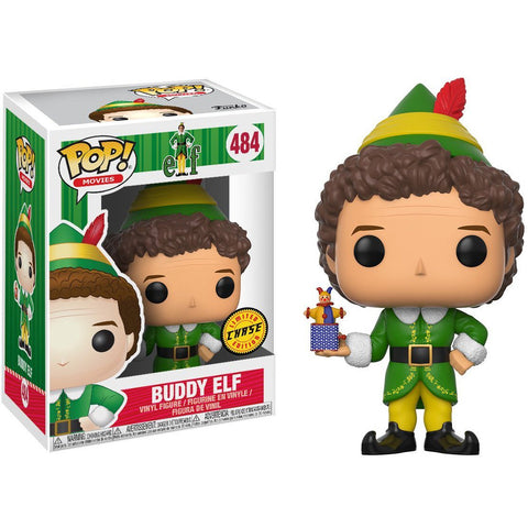 Funko Pop Buddy The Elf 484 Chase Pop Movies - Vaulted Collection LLC