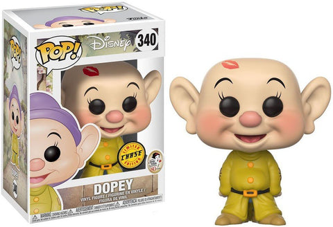 Funko Pop Dopey 340 Chase Disney Seven Dwarfs - Vaulted Collection LLC
