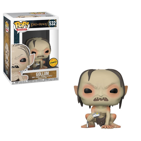 Funko Pop Gollum Chase 532 Lord Of The Rings Pop Movies - Vaulted Collection LLC