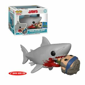 Funko Pop Jaws 760 SDCC Shark Biting Quint Pop Movies - Vaulted Collection LLC