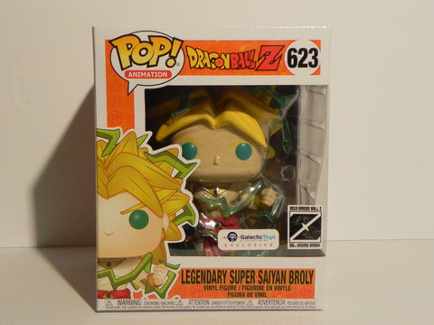 Funko Pop Legendary Super Saiyan Broly 623 Galactic Toys Exclusive 6 Inch - Vaulted Collection LLC