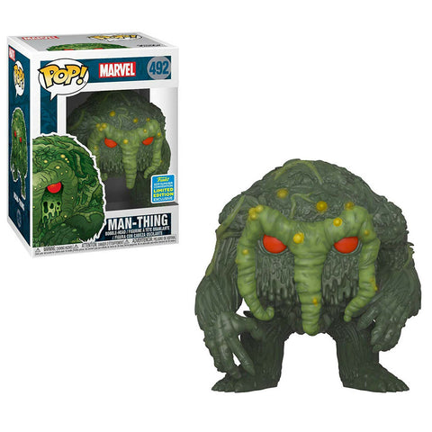 Funko Pop Sdcc 2019 Man Thing 492 Marvel - Vaulted Collection LLC