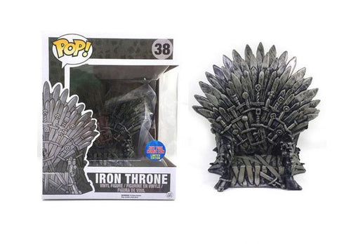 Funko Pop Iron Throne 38 Game Of Thrones NYCC Exclusive - Vaulted Collection LLC