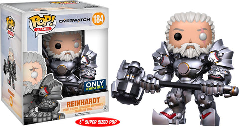 Funko Pop Reinhardt 184 Best Buy Exclusive Overwatch - Vaulted Collection LLC