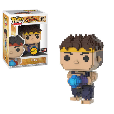 Funko Pop RYU 15 Street Fighter Chase Gamestop Exclusive Pop Games - Vaulted Collection LLC