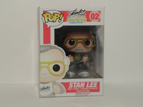 Funko Pop Stan Lee Wizard Con Convention Exclusive 02 - Vaulted Collection LLC