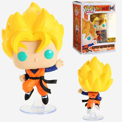 Funko Pop Super Saiyan Goten 641 Hot Topic Exclusive Dragon Ball Z - Vaulted Collection LLC