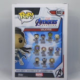 Funko Pop Valkyrie 483 Marvel Avengers Endgame Collectors Corps - Vaulted Collection LLC