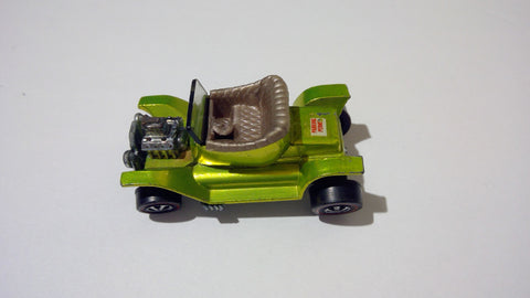 Hot Wheels Redline 1968 Hot Heap Olive Green - Vaulted Collection LLC