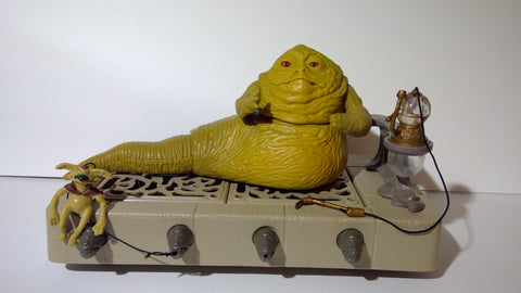 Star Wars Vintage Jabba The Hutt 1983 Playset Complete - Vaulted Collection LLC