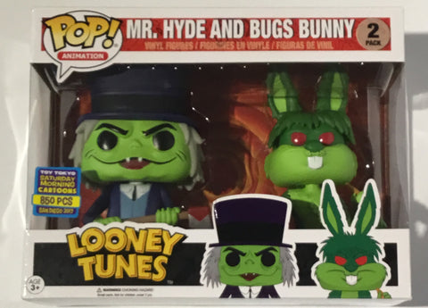 Mr. Hyde and Bugs Bunny 2 Pack Toy Tokyo Funko Pop - Vaulted Collection LLC