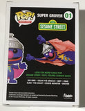 Super Grover 01 Funko Pop Replacement Box - Vaulted Collection LLC