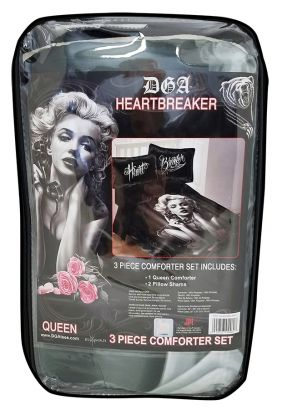 Heart Breaker Comforter Blanket and Pillow Cases