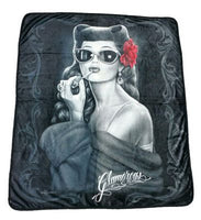 Hyfleece Glamorous Throw Blanket