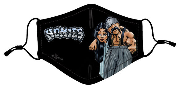 Protective Mask- Homies Big Loco & Shygirl (Color)