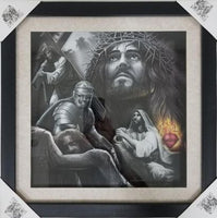 Passion Shadow Box Framed Art
