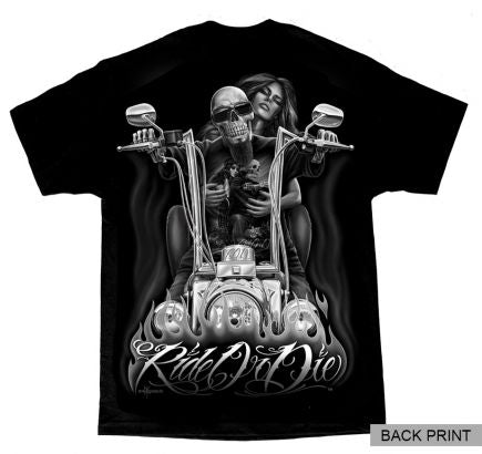 ROD- My Old Lady BACKPRINTED Men's Tee