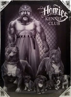 Small Canvas Art- Kennel Club