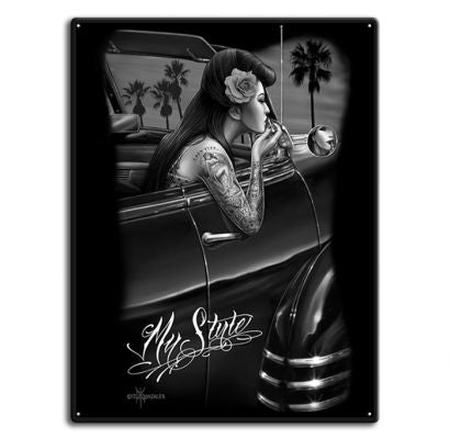 Tin Metal Signs- My Style