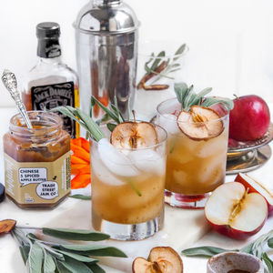 Apple Butter Sage Whiskey Sour