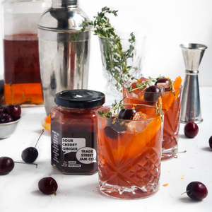 Sour Cherry Old Fashioned