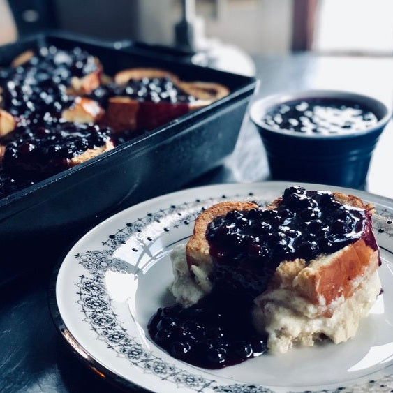 Blueberry Lemon Stuffed French Toast