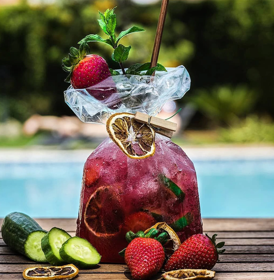 Plum Sangria in a  Bag!