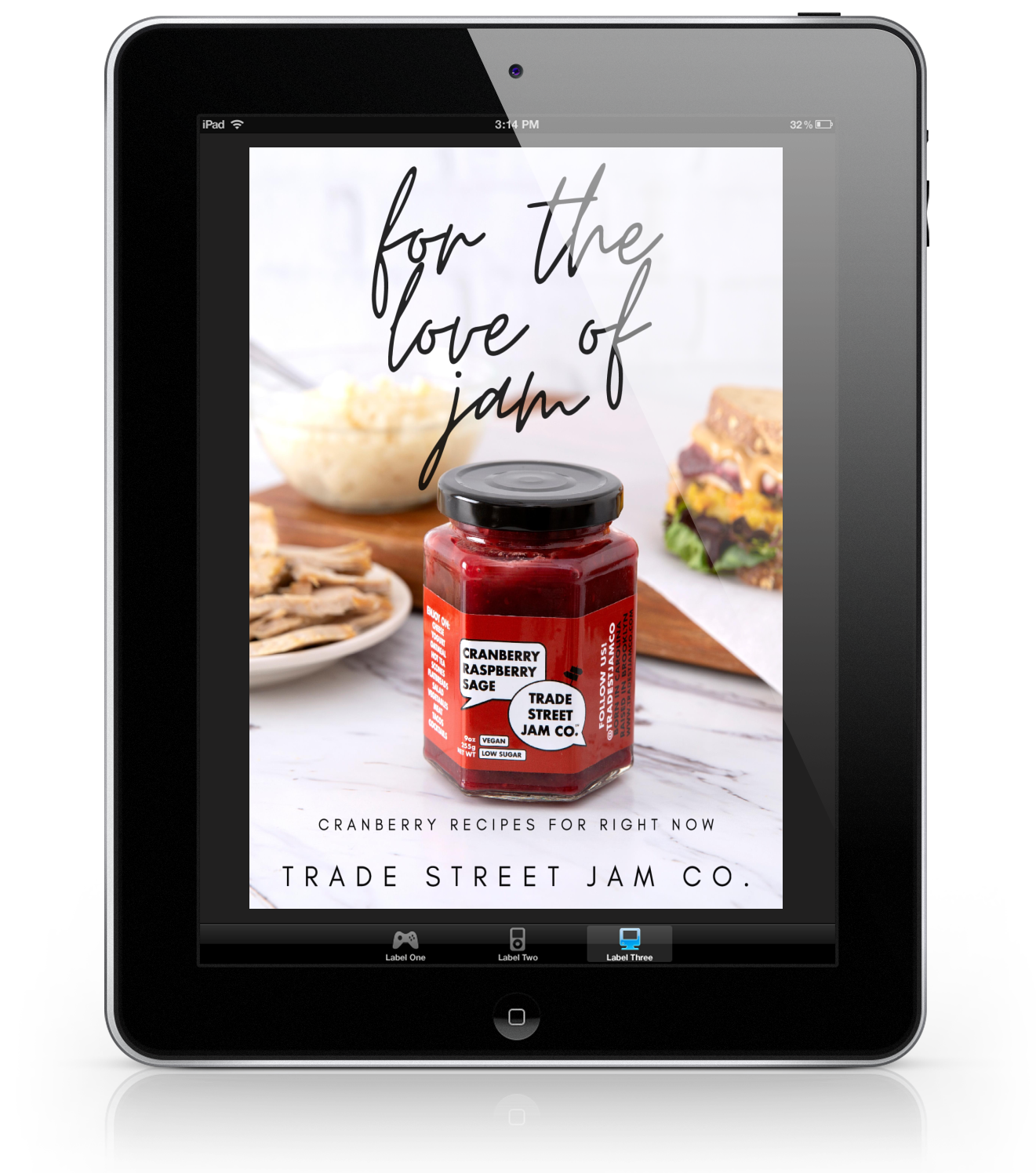 For the Love of Jam: Cranberry Recipes for Right Now Digital Download