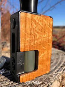 White Oak (Curly) Custom Panels for Pulse 80w and Pulse X BF-BC Custom Design