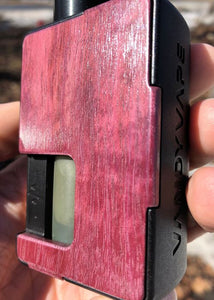 Purpleheart Custom Panels for Pulse 80w and Pulse X BF-BC Custom Design