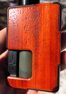 Padauk Custom Panels for Pulse 80w and Pulse X BF-BC Custom Design