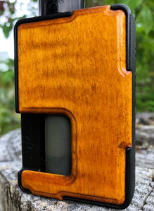 Dyed Figured Maple Custom Panels for Pulse 80w and Pulse X-BC Custom Design