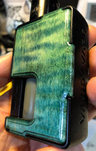 Load image into Gallery viewer, Dyed Figured Maple Custom Panels for Pulse 80w and Pulse X-BC Custom Design