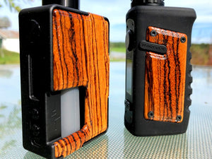 Zebrawood Custom Panels for Pulse 80w and Pulse X BF (Gloss)-BC Custom Design