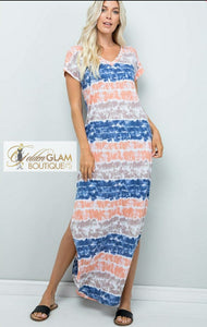 "All ""Tied"" Out Maxi"