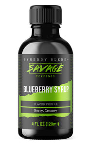 Blueberry Syrup Terpenes with Free Shipping