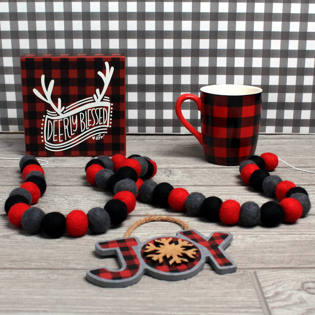 Red Buffalo Plaid Christmas