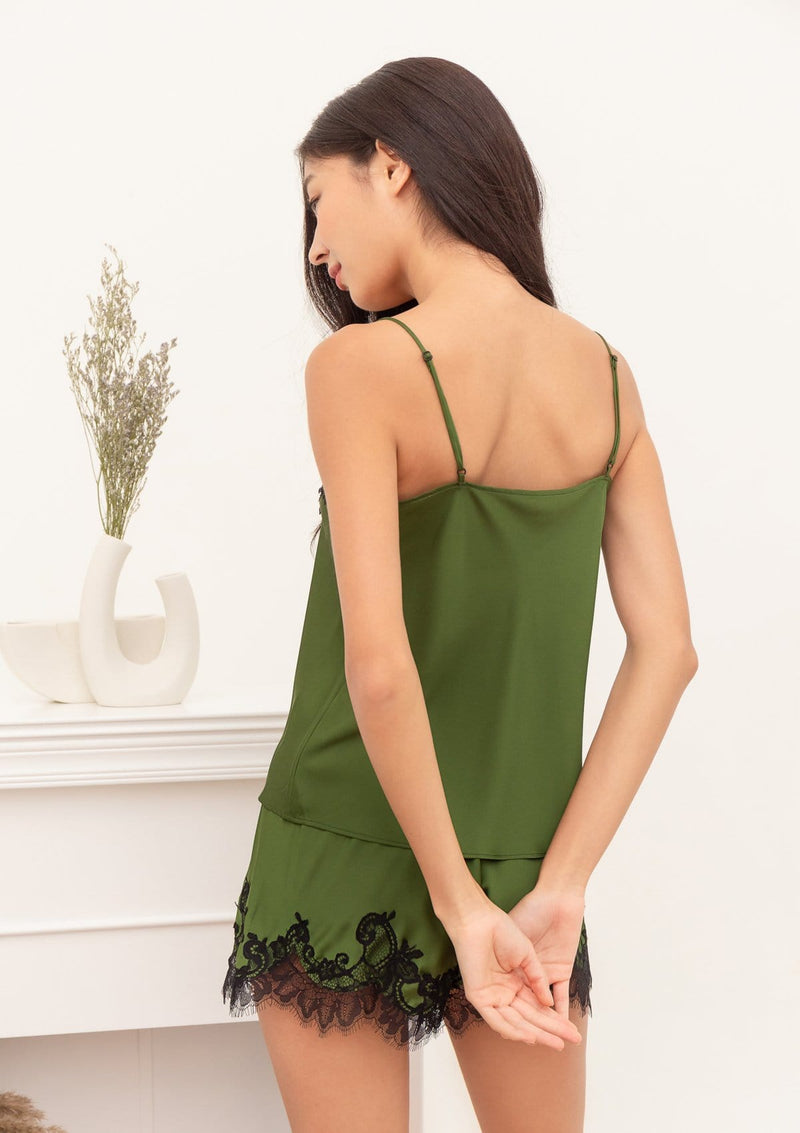 Silk Camisole Set Willow